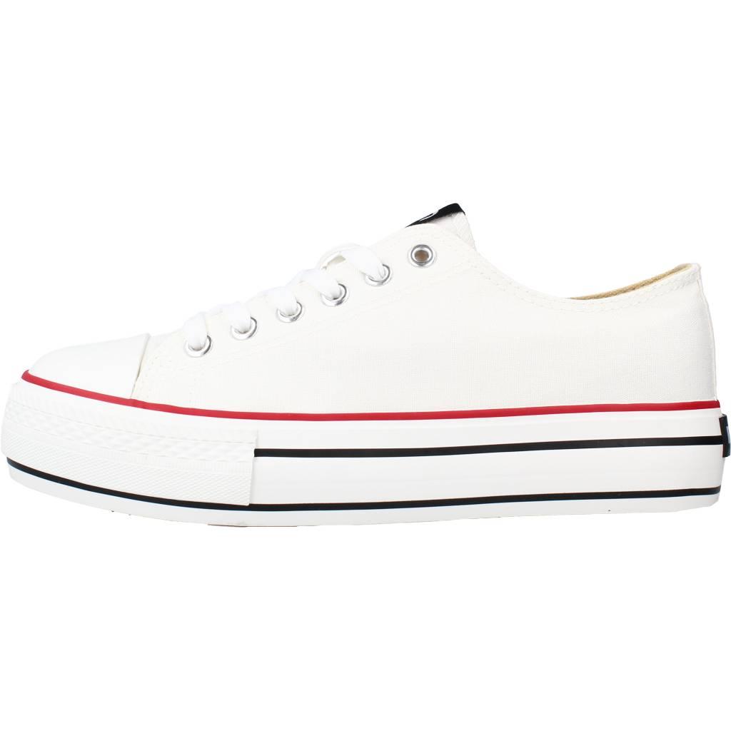 miniatura 3 - Sport / Zapatillas Mujer  MUSTANG 69423M COLOR BLANCO I222