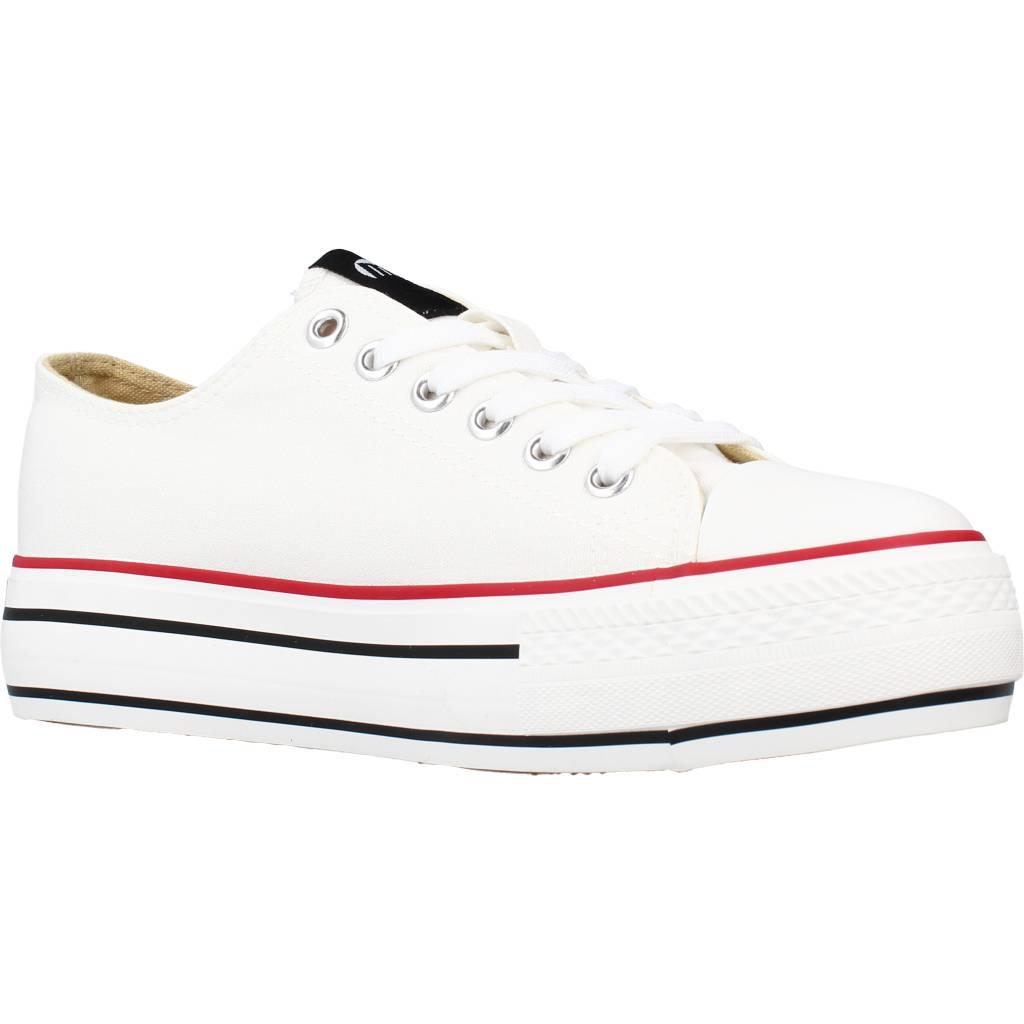 miniatura 6 - Sport / Zapatillas Mujer  MUSTANG 69423M COLOR BLANCO I222