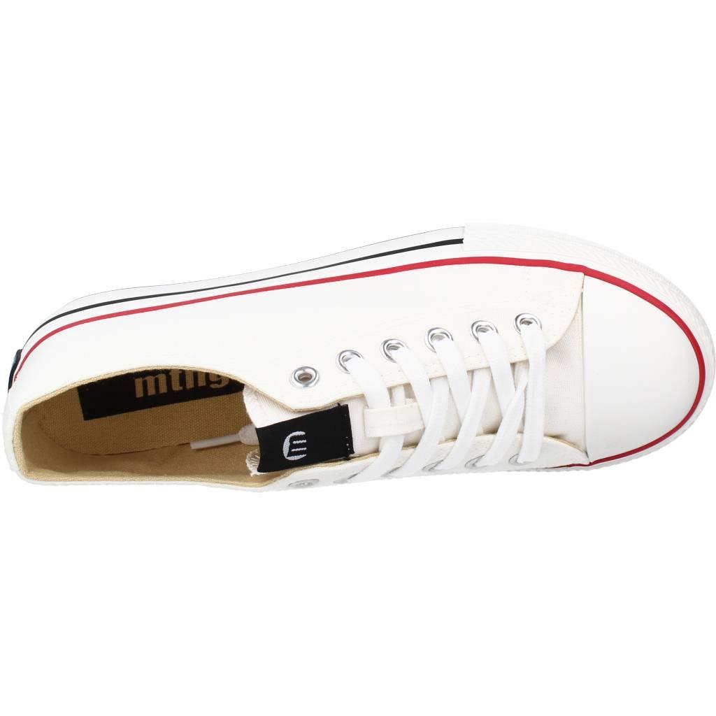 miniatura 8 - Sport / Zapatillas Mujer  MUSTANG 69423M COLOR BLANCO I222