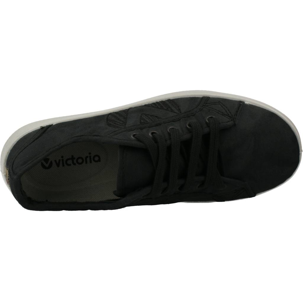 miniatura 16 - Sport / Zapatillas Mujer  VICTORIA 112508 COLOR AZUL PETROLEO