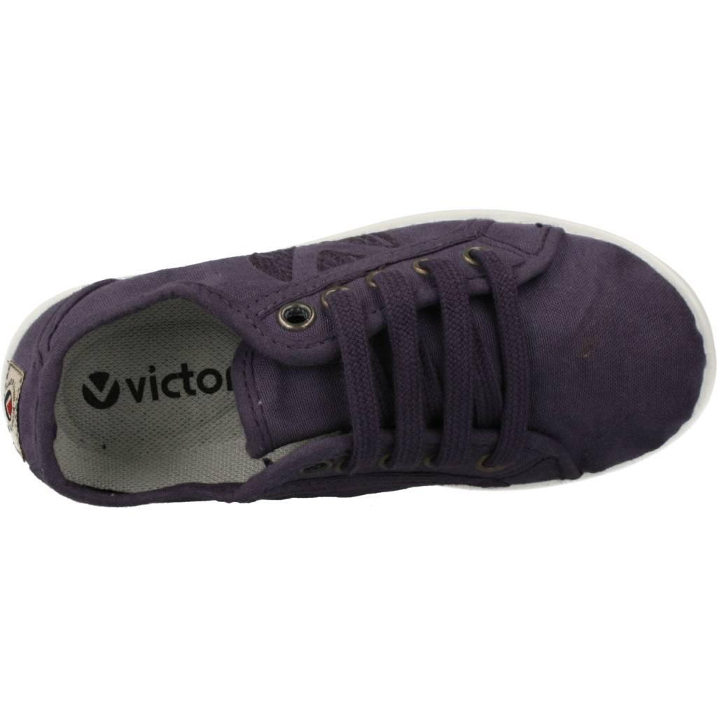 miniatura 24 - Sport / Zapatillas Mujer  VICTORIA 112508 COLOR AZUL PETROLEO