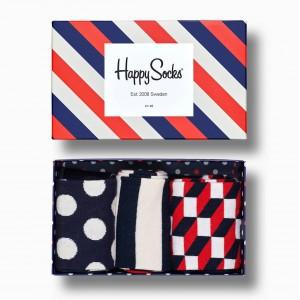STRIPE GIFT BOX 3-PACK
