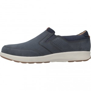 UN TRAIL STEP NAVY NUBUCK