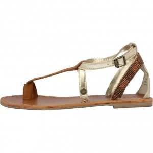 JANE STRAPS METALLIC