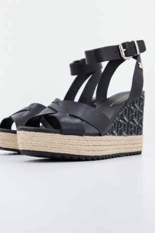 TH RAFFIA HIGH WEDGE